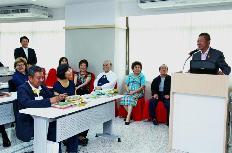 มหาวิทยาลัยภาษาและวัฒนธรรมปักกิ่ง สำนักงานกรุงเทพเปิดหลักสูตรภาษาจีนสำหรับนักธุรกิจชั้นสูง รุ่นที่ 1